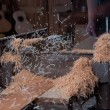 Stock Photo: Woodshop planer