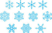Snowflackes — Stock Vector