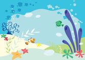Undersea background — Stock Vector