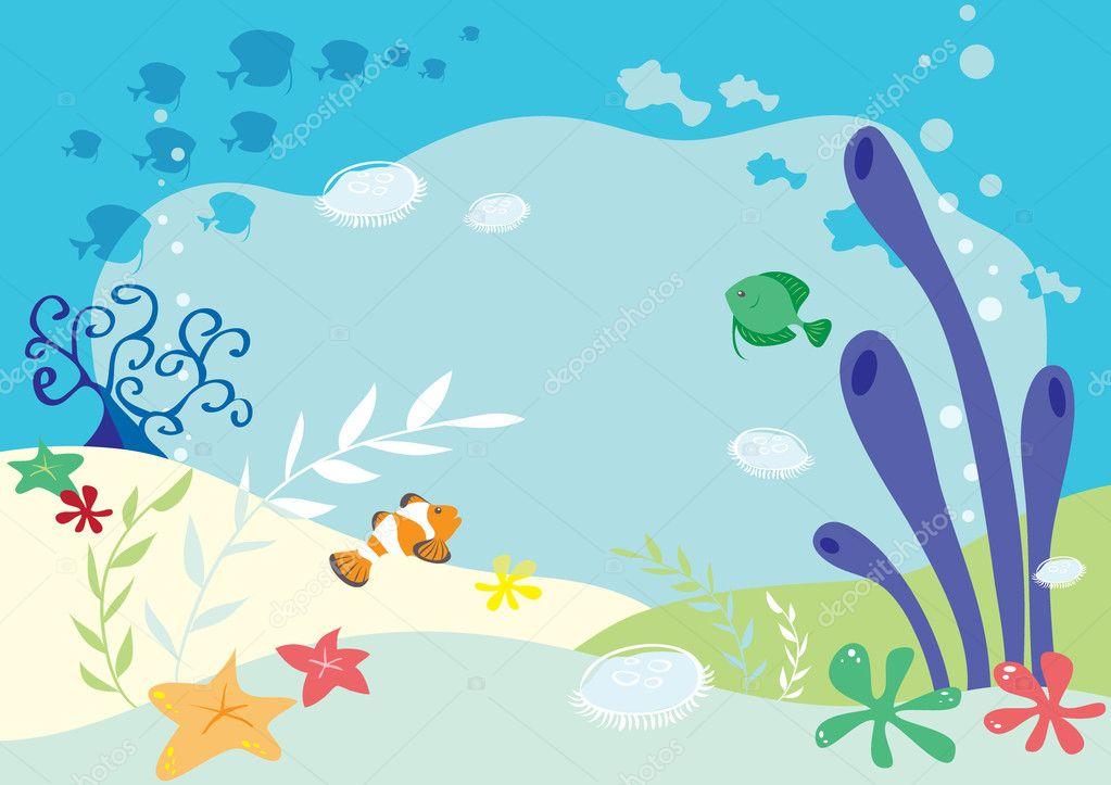 Under Sea Cartoon