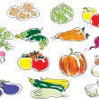 Vegetables - Stock Vector