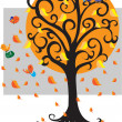 Stock Vector: Fall