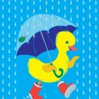 Duckling — Stock Vector #13957121