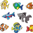 Fishes - Stock Vector