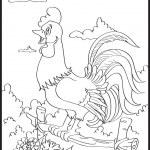 Cock contour — Stock Vector #14068332