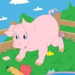 Piglet — Stock Vector