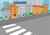 City street — Stock Vector