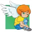 Little angel — Stock Vector #14103303