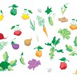 Set of vegetables — Stock Vector #14119745