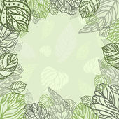 Leaves background — Stock Vector