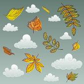 Céu de outono — Vetorial Stock