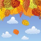 Fall — Vetorial Stock