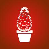 Christmas cactus — Stock Vector