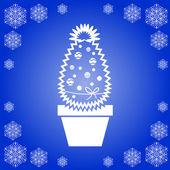Vánoční kaktus — Stock vektor