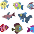 Fishes — Stock Vector #36633825