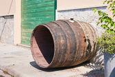 Vino barrica lavado — Foto de Stock
