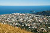 Gallinara island — Stock Photo