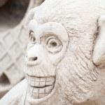 World Sand Sculpture Festival of Thailand — Stock Photo