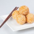 Sesame Balls — Stock Photo