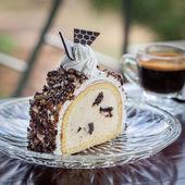 Icecream cake — Stock Photo