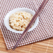 Cooked brown rices — Stock Photo