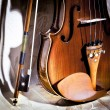 Vintage violin — Stock Photo