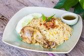 Chicken biryani — Stock Photo