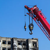 Crane working — Stockfoto