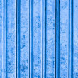 Grunge corrugated metal — Stock Photo