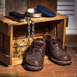 Rugged shoes — Stock Photo #35700267
