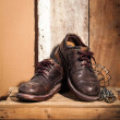Rugged shoes — Stock Photo