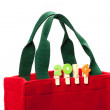 X'mas shopping bag — Stock Photo
