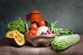 Still life vegetables — Stock Photo