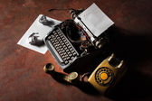 Old typewriter — Foto de Stock