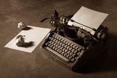 Vecchia macchina da scrivere — Foto Stock