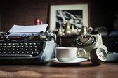 Still life of retro office — ストック写真