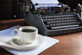 Still life of retro office — Foto Stock