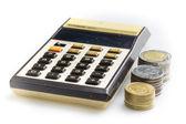 Old calculator — Stock Photo