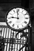 Gamla retro klocka — Stockfoto