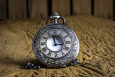 Antique pocket watch — Stock Photo
