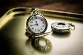Reloj de bolsillo antiguo — Foto de Stock