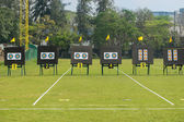 Archery field — Stock Photo