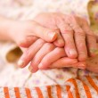 Caring hands - helping the needy - Stock Photo