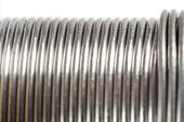 Shiny wire abstract — Stock Photo