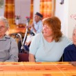 Stock Photo: Senior in nursing home