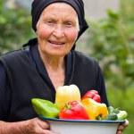 Hoar, vieille femme — Photo
