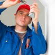 Electrician working — Stock Photo