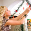 Stock Photo: Decorating 1