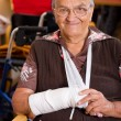 Stock Photo: Old womin nursing home