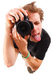 Funny Photographer — Stockfoto